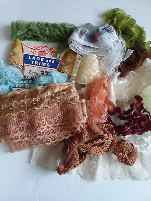 Vintage Lace And Trim Lot