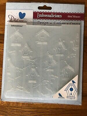 Embossalicious Embossing Folder 6 x 6 Rococo Frame