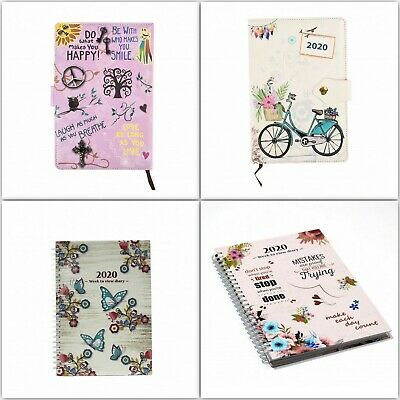 2020 A5 Week to View / One Day a Page Diary
