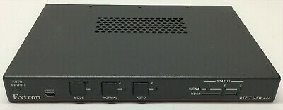 Extron DTP T USW 233-3 Input Switcher with DTP Transmitter & Audio