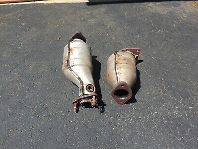 2 Genuine Oem Scrap Catalytic Converters For Recycle Only