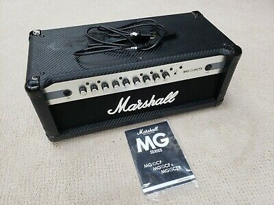 Marshall MG100HCFX Guitar Head Amp 100W 4 Channel Overdrive Effects Bass