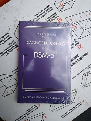 Desk Reference to the Diagnostic Criteria DSM-5