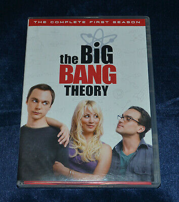 The Big Bang Theory - The Complete First Season - DVD