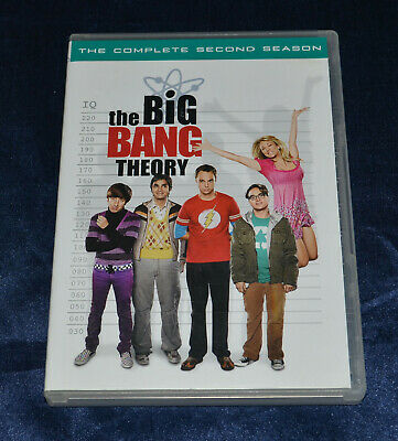 The Big Bang Theory - The Complete Second Season - DVD