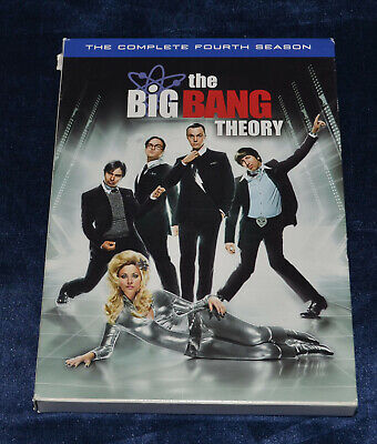 The Big Bang Theory - The Complete Fourth Season - DVD