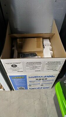 Brother 4100E IntelliFax Plain Paper Laser Fax/Copier. Pre-owned