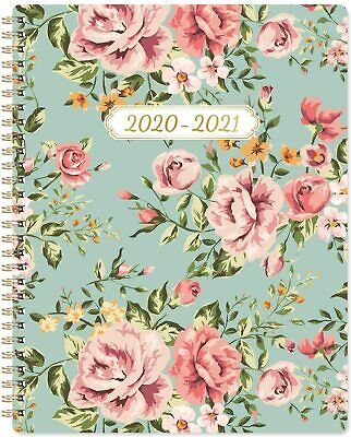 2020-2021 Planner - Weekly and Monthly Planner 8'' x 10'' Flexible Cover