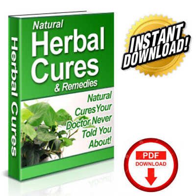 Natural Herbal Cures & Remedies, PDF eBook w/Resell Rights