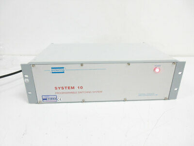 Pickering System 10 Programmable Switching System & 10-910A-002 Power Supply