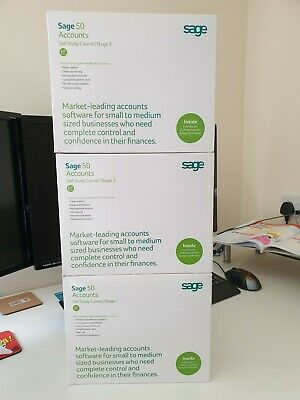 Sage 50 Accounts - Self Study Course - Stages 1, 2 and 3 plus certification