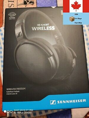 Sennheiser HD 4.40 BT Over-Ear Sound Isolating Headphones - Black Bluetooth BASS