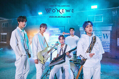 ONEWE ONE 1st Album CD+POSTER+2 Photo Book+Drawing Book+Post Card+2 Card SEALED