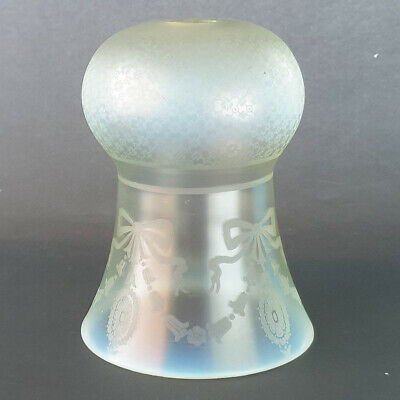 Arts and Crafts Vaseline Glass Lamp Light shade