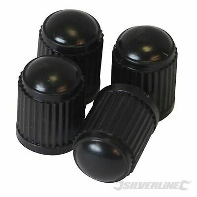 Silverline Tyre Dust Caps 4pk 380156