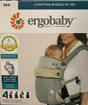 Ergobaby Omni 360 Carry ALL Positions Ergonomic Baby Carrier NWT