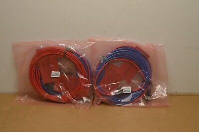 Lot of 2 EF Johnson 5300 ES Hardware and 22' DC Cable 023-9750-010  Power Cable