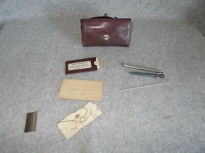 Vintage Chas Truax Greene & Co Chicago USA Physicians Surgical Supplies Case Kit