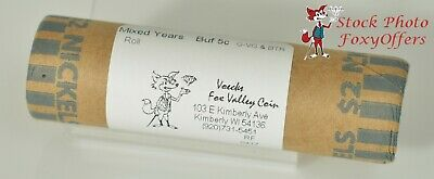 Buffalo Nickel Mixed Years Roll (40 coins, $2 Face) - Good - Better