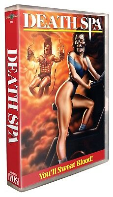 Death Spa - VHS Limited Edition Reissue - Gorgon Video - Brand New!