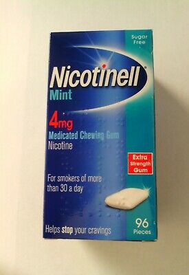 NICOTINELL MINT 4mg CHEWING GUM X 480 Pieces