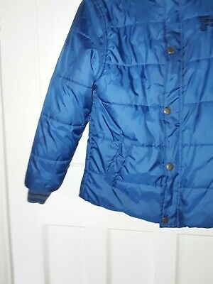 French Connection Electric Blue Bomber Jacket Age 10/11 Years Used