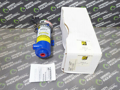 NEW Master Pneumatic CD25-2 Filenco Compressed Air Dryer / Filter Assembly