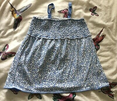 Gorgeous Girls Blue Mini Boden Sun Top Age 7-8 - In Pink Too See Photos/Listing