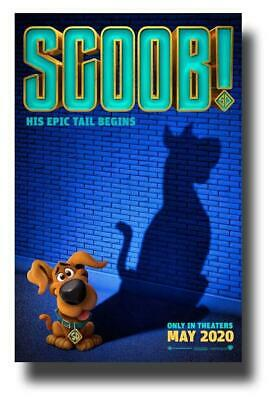 Scoob Poster Movie 11 x 17 inches First Teaser
