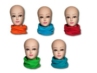 Unisex Kids Children Teenager Teens Boys Girls Cotton Snood Scarf Neck Scarves