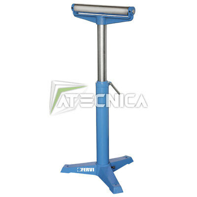 The Stand With Roller Adjustable IN Height Fervi 0133 Roller d52 For 350mm