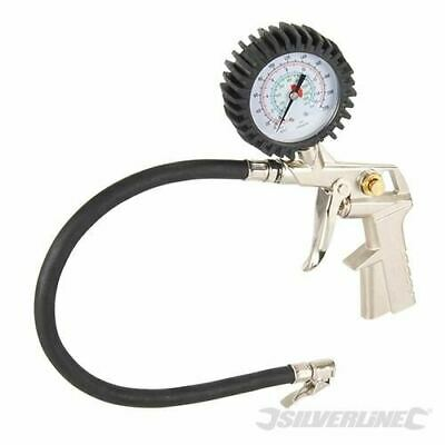 Silverline Air Tyre Inflator 400mm 675078