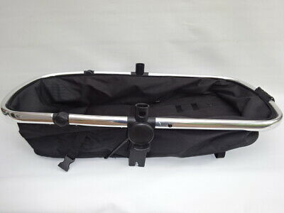 Mothercare Journey Carrycot Seat Unit Frame in Black no hood or harness silver