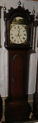 Read 8 Day Longcase Grandfather Clock