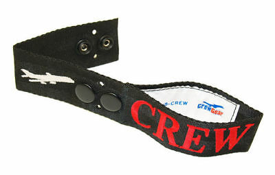Airline Secure Crew Bag Tag - Embroidered