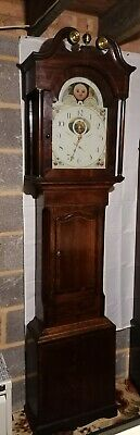 Pearson Halifax 30 Hour Moonroller longcase grandfather clock