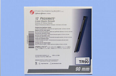 Pack of 12 TR90 Ethicon Proximate 4.0 mm x 4.5 mm