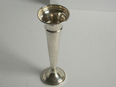 Antique Sterling Silver Bud Vase by Dunkirk