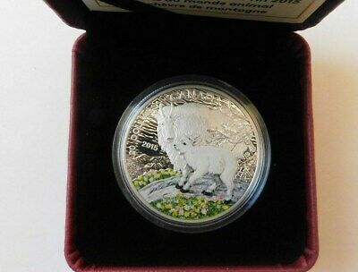 2015 Canada $20 9999%Silver - Baby Animals:Mountain Goat 1 oz Coin((NICE COIN))