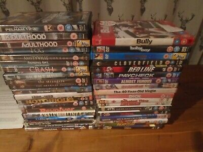dvd's job lot x 38 used
