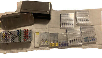 Lot Of Endodontic Rispisonic and Shaper Medidentia MM Files And Shapers