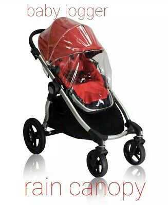 Baby jogger city select single Rain Canopy stroller Cover