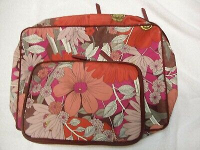 New Vera Bradley Expandable Packing Cube Bohemian Blooms Set of Two L/S