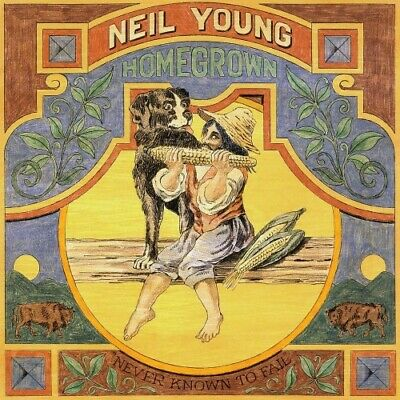 Neil Young - Homegrown Lp Mint/Brand New (Pre-Order)