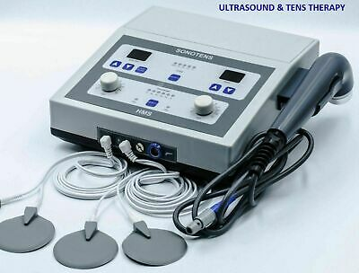 New Combination Physical Pain Relief Ultrasound Therapy & Electrotherapy Machine