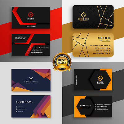 PRINT READY Professional Business Card Design + UNLIMITED REVISIONS