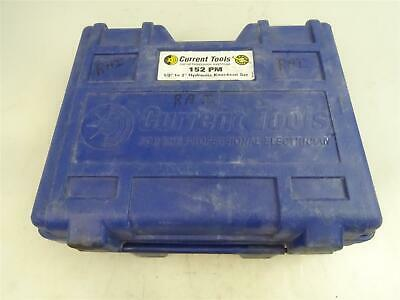 """Current Tools  Hydraulic Knockout Set  1/2"""" to 2"""" , 152PM"""