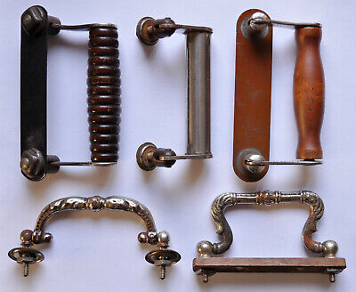 Antique sewing machine handles for cases/boxes