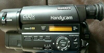 Sony Ccd-tr412e Video 8 camcorder