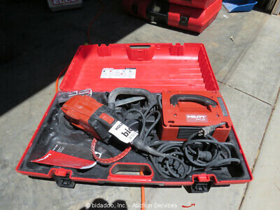 "2017 Hilti DG150 6""  Handheld Dustless Diamond Concrete Grinder w/Case bidadoo"